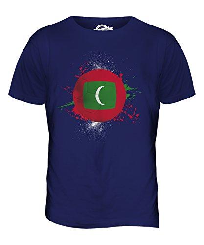 CandyMix Malediven Fußball Herren T Shirt Navy Blau