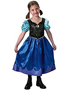 Rubie's Official Disney Frozen Classic Anna Costume by Rubie's Masquerade UK