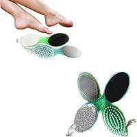 Generic verde: pie cuidado Lima Cepillo Polvo de limpieza de estropajo Molienda pies piedra pómez