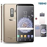 TEENO 6.1' Plein HD écran 3GO RAM+32GO ROM Téléphone 4G Portable Débloqué(Android - Double SIM - Double Caméras - Quad Core) Mobile Or Telephone