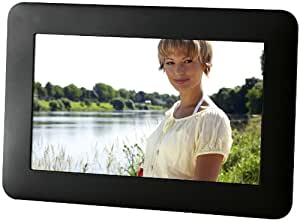 Intenso PhotoFan Digitaler Bilderrahmen (15,2 cm (6 Zoll) Display, Timer, SD-Kartenslot, Diashow-Funktion) schwarz