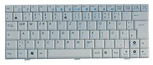 NExpert deutsche QWERTZ Tastatur kompatibel für ASUS Eee PC 904 904HA 904HD 1002 1002HA 1003 1003HAG 1004 1004DN Series Weiss DE - Asus Eee Pc 1002ha