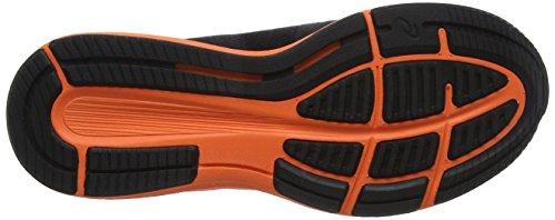 Asics Roadhawk FF, Chaussures de Running Homme Multicolore (Black/hot Orange/white)