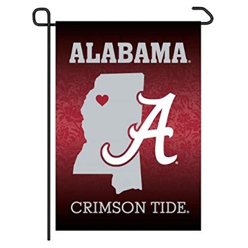 Wincraft Alabama Crimson Tide 12 x 18 cm Premium Home State Garden Flag