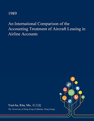 An International Comparison of the Accounting Treatment of Aircraft Leasing in Airline Accounts