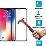Huhuswwbin Pellicola Protettiva, Cover 5D Curvo Full/Anti-Scratch/Anti-Shatter/Premium Film in Vetro temperato per iPhone XS Max XR - per iPhone XS Max