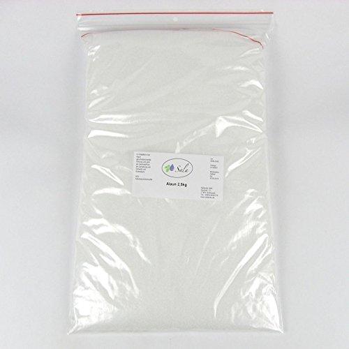 SALA Alaun Kalialaun Kaliumaluminiumsulfat 2500 g 2,5 kg