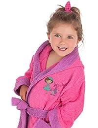 Secaneta - Albornoces Algodón Bordados para Niña. Albornoces Infantiles con Dibujos. Ninnet (2 a 4 años/Years Old)