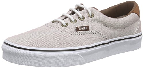 Vans Authentic, Sneakers Basses Mixte Adulte Rose (Oxford & Leather/Oxblood Red/True White)