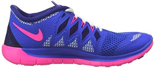 Nike - Free 5.0, Des Pantoufles Pour Les Filles Et Les Femmes (blau)