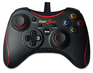 Redgear Pro Series Wired Gamepad Plug and Play Support for All PC Games Supports Windows/8/8.1/10