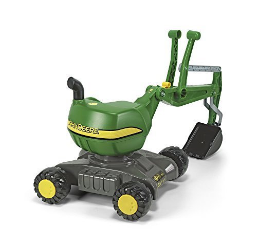 Rolly Toys 421022 - Veicolo a Pedali Digger John Deere