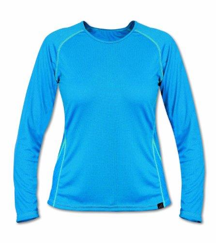 Páramo Cambia T-shirt de sport respirant à manches longues pour femme Bleu - Fluo
