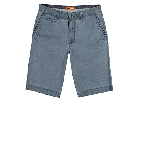 emilio adani Herren modische Chino-Shorts, 23703, Blau in Größe 48