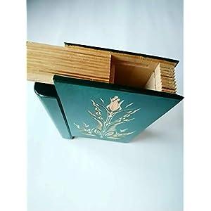 Große riesige Grün magische geheimnisvolle Zauberer Puzzle Buch – Kasten mit Geheimfach innen Überraschung…