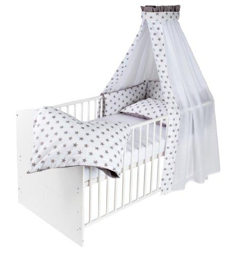 Schardt 04 498 02 02 1/723 Komplettbett Classic-Line, weiß mit textiler Ausstattun...