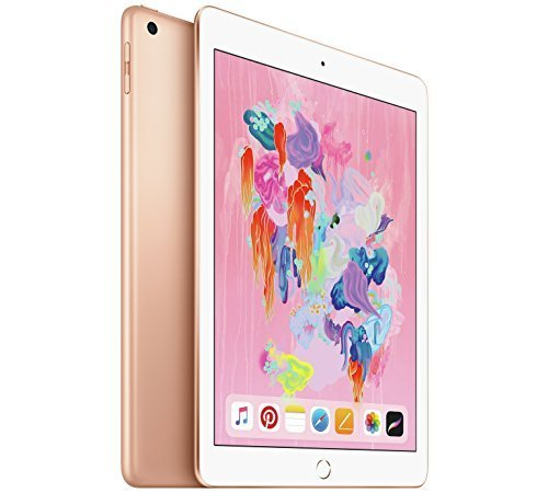 Apple iPad 128GB 3G 4G Gold tablet – Tablets (24.6 cm (9.7″), 2048 x 1536 pixels, 128 GB, 3G, iOS 11, Gold)