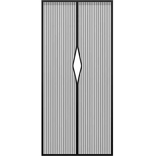 Preisvergleich Produktbild PhoneStar Magnet Fliegengitter Türvorhang 100x200cm Insektenschutz Moskitonetz