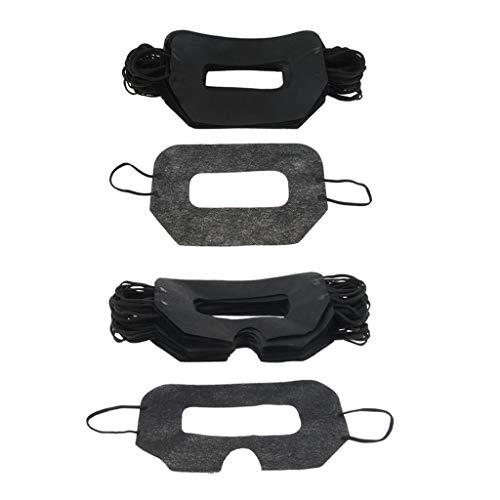 IPOTCH 100Pcs Einweg VR Augenmaske Maske Abdeckung für den Virtuellen Reality-Kopfhörer