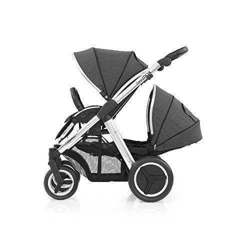BabyStyle Oyster Max 2Tandem Kinderwagen Spiegel (Tungsten Grau)