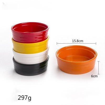 Assortiment de 4 assiettes en 4 couleurs assorties