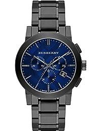Para hombre Burberry el Ciudad Cronógrafo Reloj bu9365
