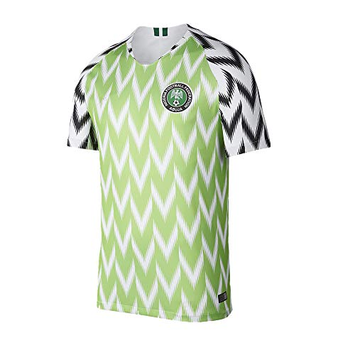 f25f25c19ee Apparel online Nigeria National Football Shirt 2018 Soccer Home Jersey  Short Sleeves (M)