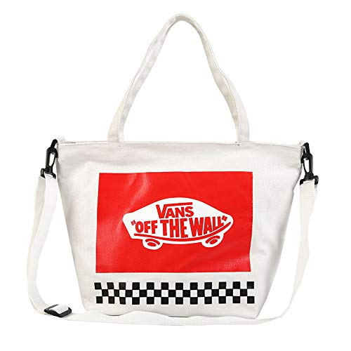 ZIYU Einfache Brief Canvas Tasche Lässig Umweltfreundliche Große Kapazität Einkaufstasche EIN-Schulter-Studententasche -