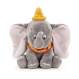 Disney 37276P Dumbo l' Elefante Morbido toy-25cm, Grigio