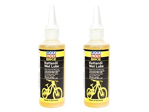 LIQUI MOLY Bike Fahrrad Kettenöl Wet Lube 2 Stück á 100 ml