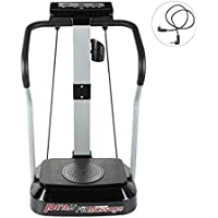 Pinty 2000W Whole Body Vibration Platform Exercise Fitness Machine Fit Massager with MP3 Player