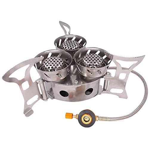 yyqxhly Quemadores de Gas 11000W Estufa de Super Potencia Cocina para Acampar...