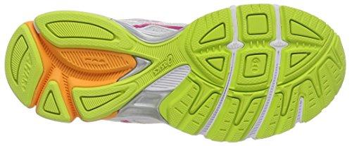 ASICS Gel-Phoenix 6, Damen Laufschuhe Training Weiß (White/Hot Pink/Flash Yellow 120)