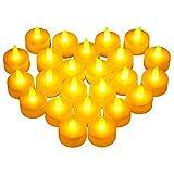 24x LED Teelichter Flammenlose Kerzen,OMorc Flackernd...