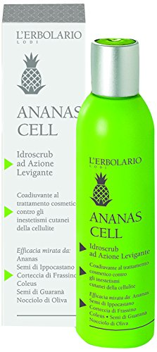 L'Erbolario Ananas Cell Hydroscrub mit glättender Wirkung, 1er Pack (1 x 200 ml)