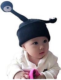 ITODA Bonnet d hiver en Tricot pour garçons et Filles - Antenne à Insectes  - Chaud - en Crochet Doux - Bonnet Coupe-Vent… a098d31671a