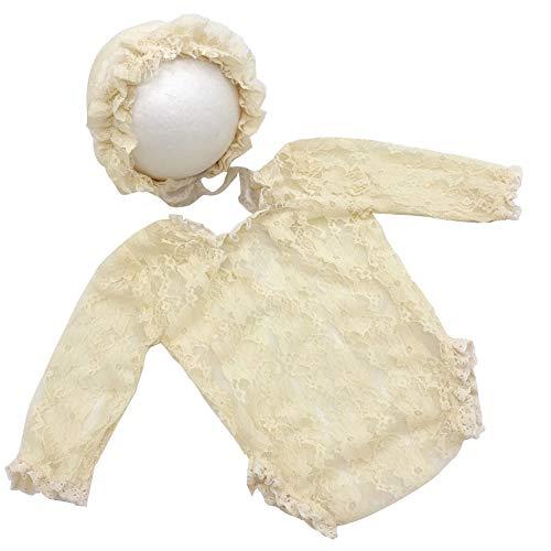 Stretch Kostüm Spitze - Ssowun Neugeborene Fotografie Kostüm,Baby Wrap Photo Prop Spitze Stretch Newborn Fotoshooting Wraps für die Babyfotografie EINWEG Verpackung