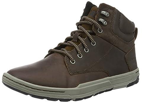 Cat Colfax Mid, Men Hi-Top Sneakers, Brown (Dark Brown), 10 UK (44 EU)