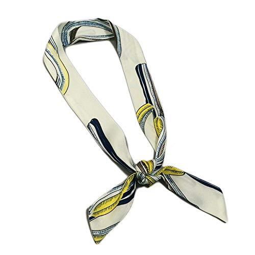 FLYRCX Summer's Double Decker Schal Lady Kopftuch mit weich und komfortabel gedruckt Schal 85 cmx 3 cm -
