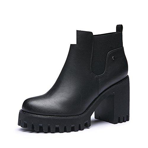 Stivali/Scarpe da donna/Scarpe moda/Impermeabile e scarpe comode/ tacchi alti-A Lunghezza piede=21.8CM(8.6Inch)
