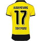 2015-16 Borussia Dortmund Home Shirt (Aubameyang 17)