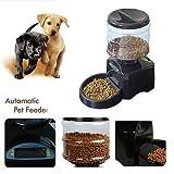 PEDY Distributeur de Nourriture Croquettes Automatique 5.5 LITRES Pour Pet Chien Chat