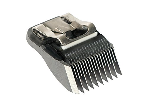 Masterclip Dog Clipper Blade German Steel A5 Clipper Blades 50F 40F 30F 15F 10F 9F 7F 7 5F 5 4F 4 3F 3 2F 2 5/8N Toe Blade compatible, Oster & Andis 2
