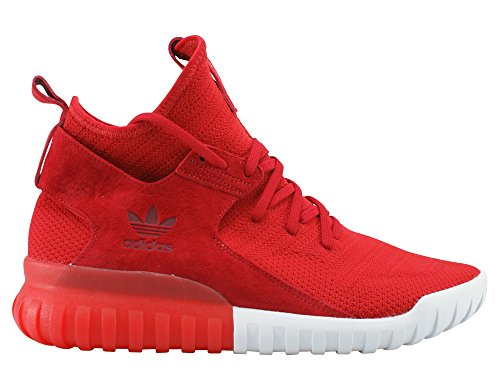 adidas Uomo Sneaker Tubular X Primeknit Rosso
