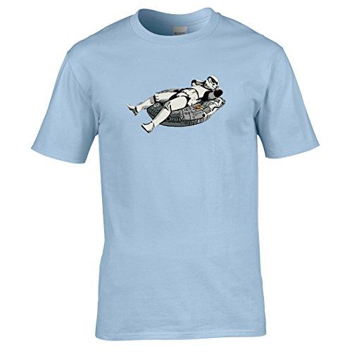 Der Stormtrooper Tag Über T-shirt Himmelblau