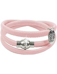 Lederarmband damen zum wickeln mit strass  Suchergebnis auf Amazon.de für: Magnet Armband, rosa - Damen: Schmuck