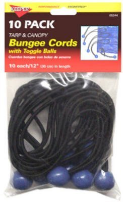 Keeper #06344 10PK Bungee Ball Cord by Hampton Products-Keeper -