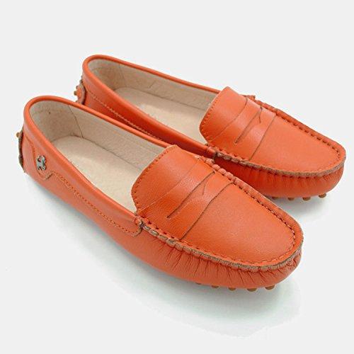 vorne Minitoo Nubuck Minitoo vorne Orange Leather Damen Damen Nubuck Minitoo geschlossen Damen geschlossen Orange Leather FaTTwYpq