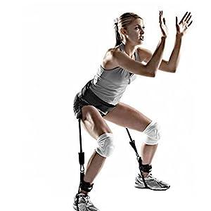 CanVivi Schlingentrainer Suspensiontrainer Widerstand Trainer Spring Fitness Gräte Beintrainer Schenkeltrainer für Sprung Springen Übung Training