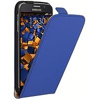 mumbi Flip Case für Samsung Galaxy S6 / S6 Duos Tasche blau